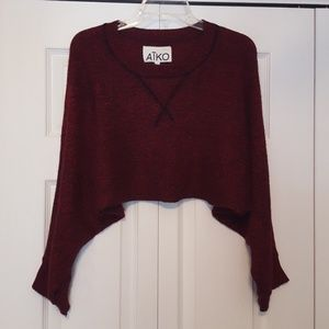 Cropped sweater, size small Aiko, or Atko?